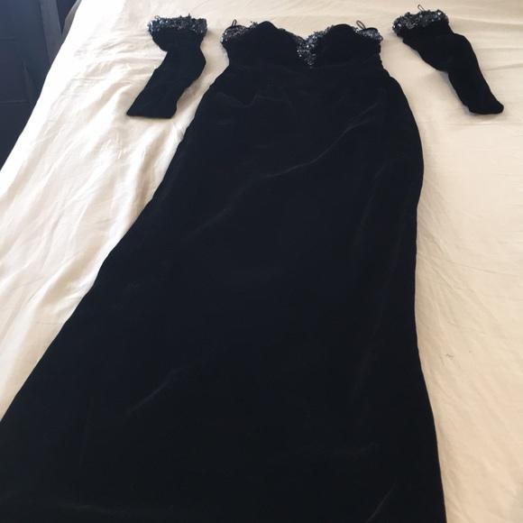 paul-louis orrier Parris Dresses & Skirts - Paul-Louis Orrier couture black velvet Dress